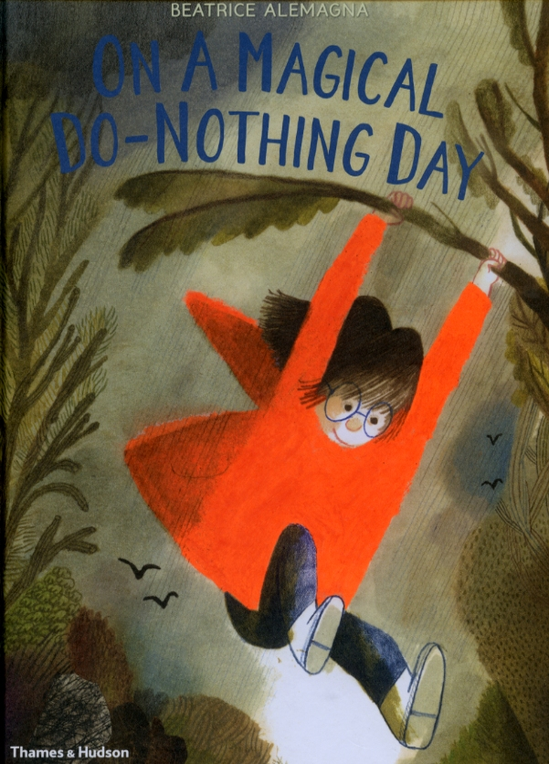 Ditch your devices and take time to explore the here-and-now with this sophisticated picturebook image