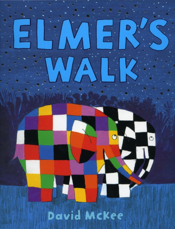 Stay mindful and boost your wellbeing on a colourful jungle stroll with Elmer image